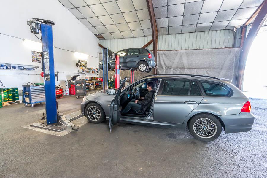 L atelier garage seb auto tarnos sud landes vente for Financement garage auto